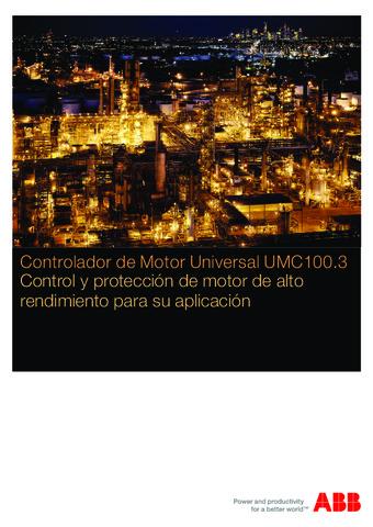 ABB - Catálogo controlador de motor universal UMC100.3