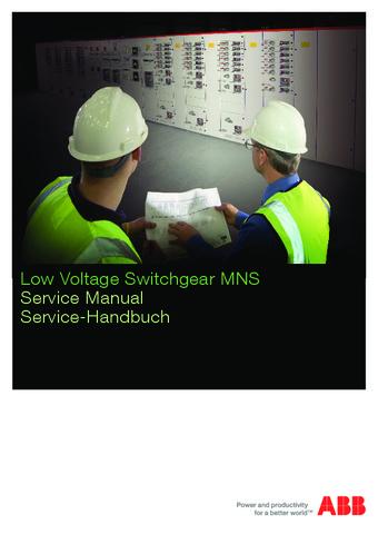 ABB - Catálogo cuadros de distribución de baja tensión MNS EN