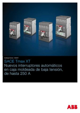 ABB - Catálogo interruptores automaticos SACE Tmax XT