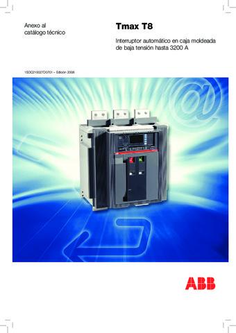 ABB - Catálogo interruptores automaticos Tmax T8