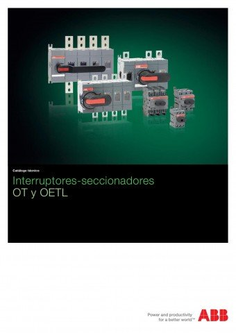 ABB - Catálogo interruptores conmutadores ot y oetl