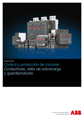 ABB - Catálogo control y protección de motores
