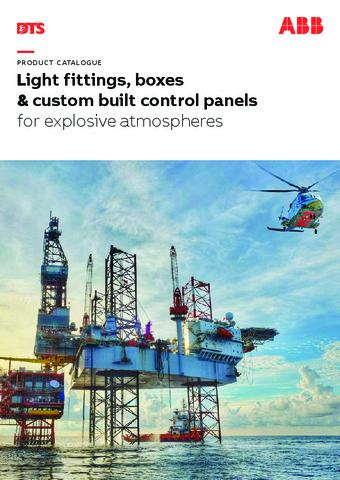 ABB - Catálogo sistemas proteccion atmosferas explosivas EN