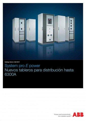 ABB - Catálogo System pro E power