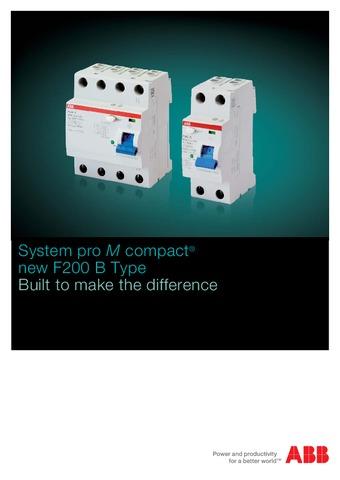 ABB - Catálogo System pro M compact EN