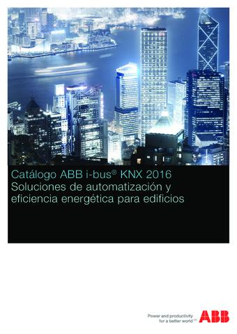 ABB - Catálogo tecnico KNX