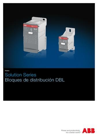 ABB - Catálogo bloques de distribución DBL