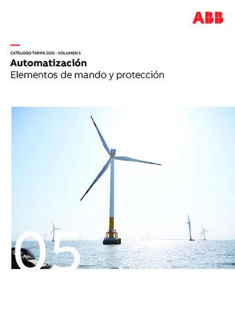 ABB - Elementos de mando y protección 2021
