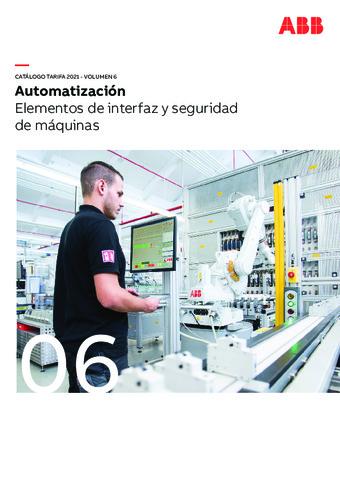 ABB - Elementos de interfaz y seguridad de máquinas 2021