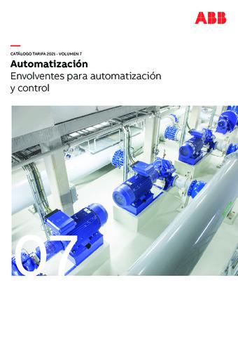 ABB - Vol.7 Envolventes para automatización y control