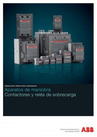 ABB - Aparatos de maniobra contactores y reles de sobrecarga