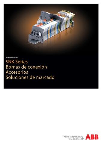 ABB - Bornas entrelec series snk accesorios soluciones de marcado