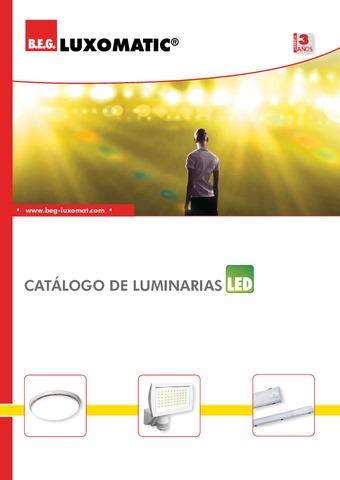 B.E.G. - Catálogo de luminarias LED