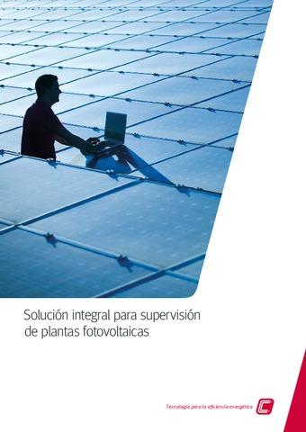 Circutor - Solución integral para supervisión de plantas fotovoltaicas