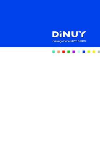 Dinuy - Catálogo general