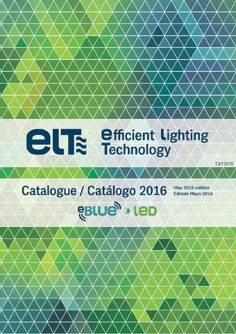 ELT - Catálogo (EBLUE, LED)