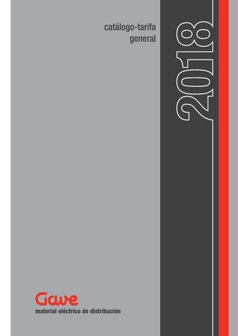 Gave - Catálogo Tarifa General