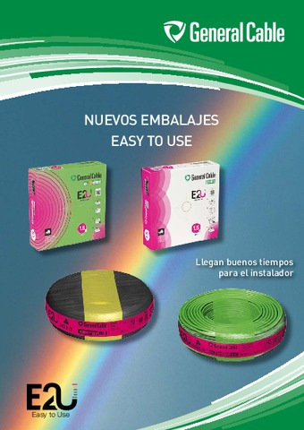 General Cable - Nuevos Embalajes Easy to Use (E2U)