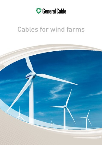 General Cable - Cables for Wind Farms