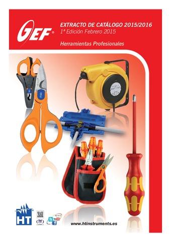HT Instruments - Catálogo GEF