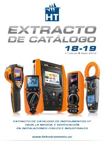 HT Instruments - Extracto catálogo