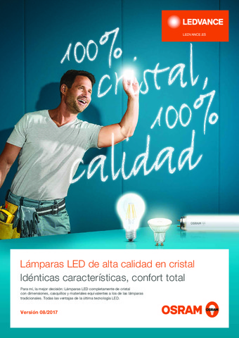 Ledvance - Catálogo lamparas LED