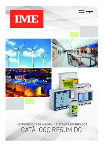 Legrand – Catálogo Instrumentos de medida y sistemas integrados