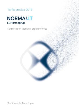 NormaGrup – Catálogo – Tarifa NormaLit – Iluminación técnica y arquitectónica