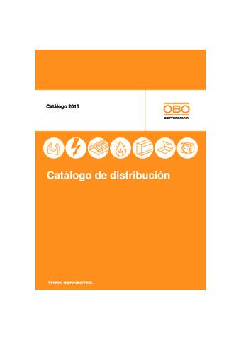 Obo Bettermann - Catálogo de Distribución