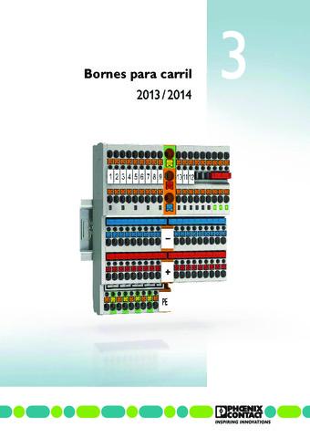 Phoenix Contact - Bornes para carril