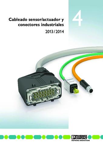 Phoenix Contact - Cableado de sensores/actuadores y conectores enchufables industriales