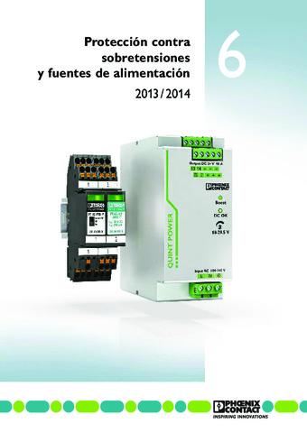 Phoenix Contact - Protección contra sobretensiones y fuentes de alimentación