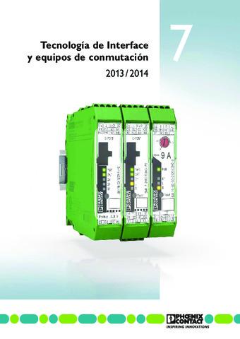 Phoenix Contact - Tecnología de interfaz y aparatos de conmutación