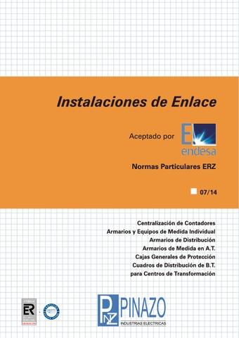 Pinazo - Catálogo instalaciones de enlace ENDESA ERZ
