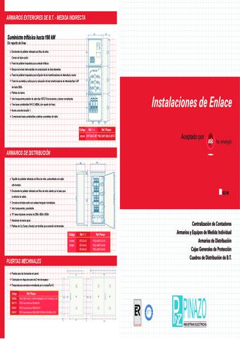 Pinazo - Catálogo instalaciones de enlace EDP-HC