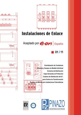 Pinazo - Catálogo instalaciones de enlace EON