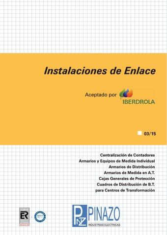 Pinazo - Catálogo instalaciones de enlace IBERDROLA