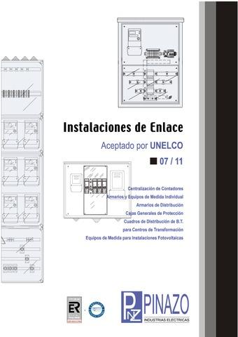 Pinazo - Catalogo instalaciones de enlace UNELCO ENDESA