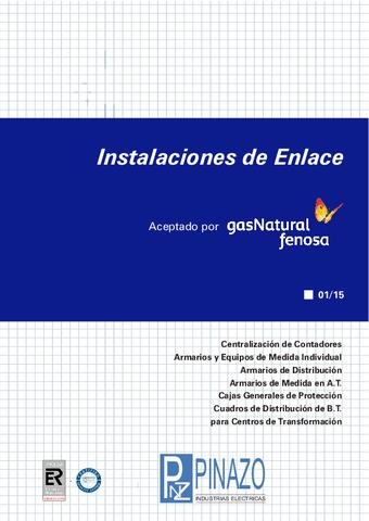 Pinazo - Catálogo instalaciones de enlace UNIÓN FENOSA