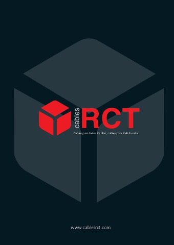 RCT - Catálogo Cables