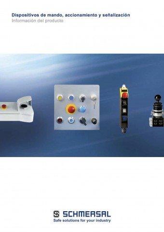 Schmersal dispositivos de mando acionamiento y senalizacion