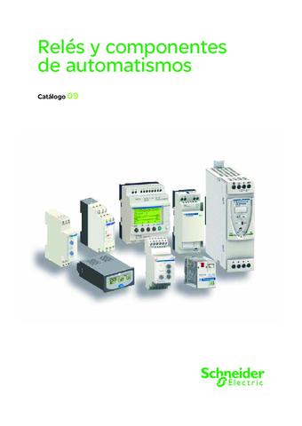 Schneider - Catalogo LEC Relés y componentes de automatismos