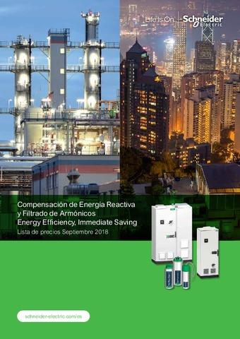 Schneider - Compensación de Energía Reactiva y Filtrado de Armónicos
