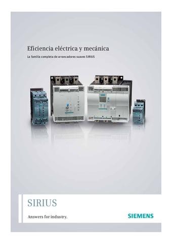 Siemens - Arrancadores Suaves SIRIUS 3RW