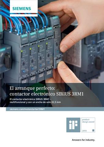 Siemens - Contactor SIRIUS 3RM1 ES