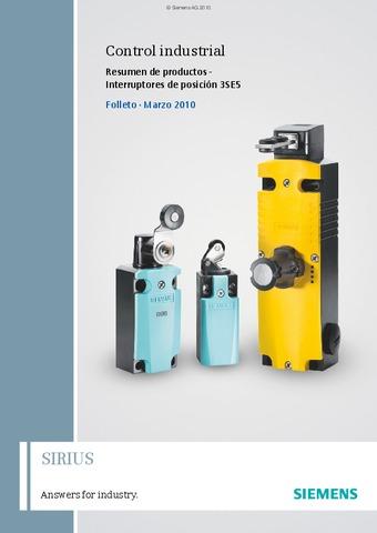 Siemens - Finales de carrera SIRIUS ES