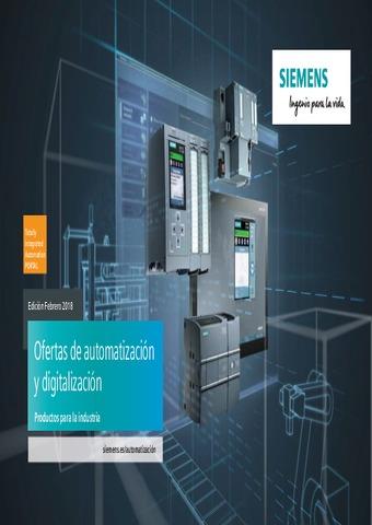 Siemens - Ofertas automatización