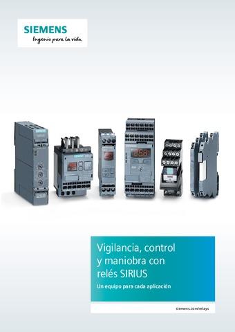 Siemens - Reles vigilancia y control SIRIUS