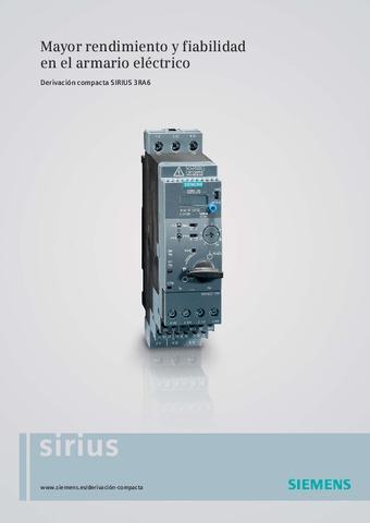 Siemens - Sirius 3RA6 ES