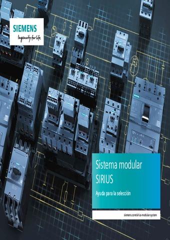 Siemens - Sistema modular SIRUS, ayuda para la selección